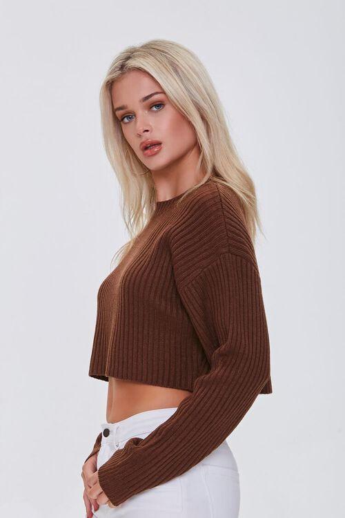 Cropped Dolman Sweater, image 2