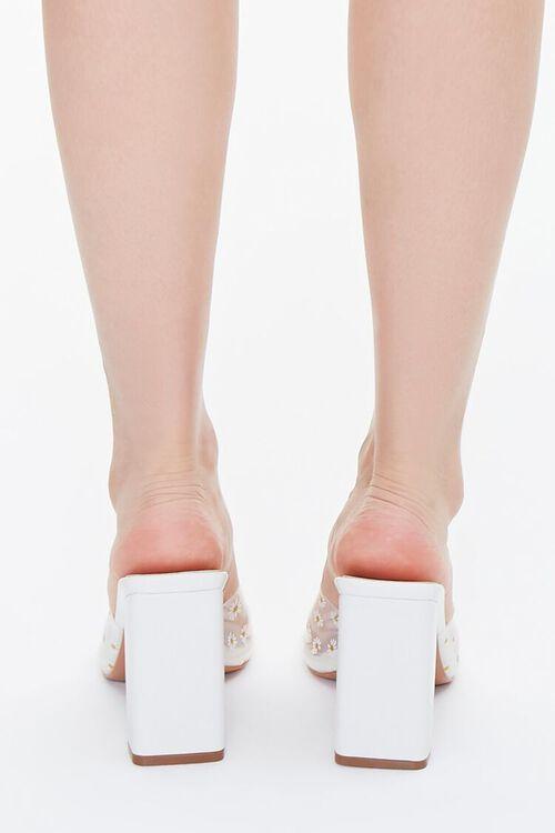 Daisy Print Block Heels, image 3