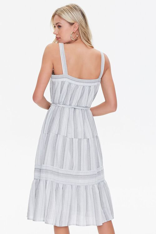 Striped Fit & Flare Dress, image 3