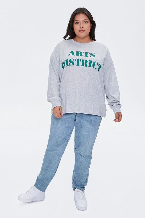 Plus Size Arts District Graphic Tee, image 4