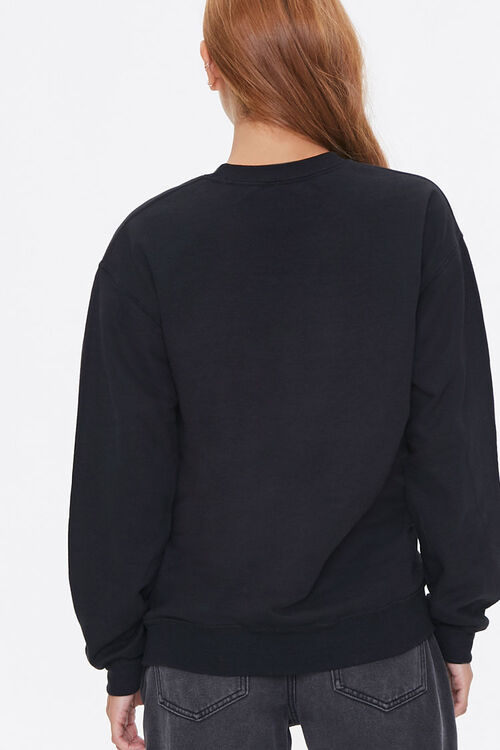 Daffy Duck Embroidered Graphic Pullover, image 3