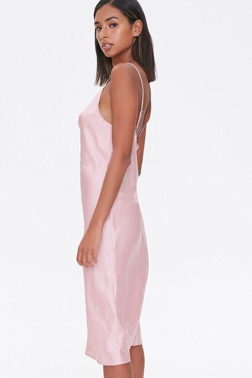 Satin Cowl Slip Dress, image 2