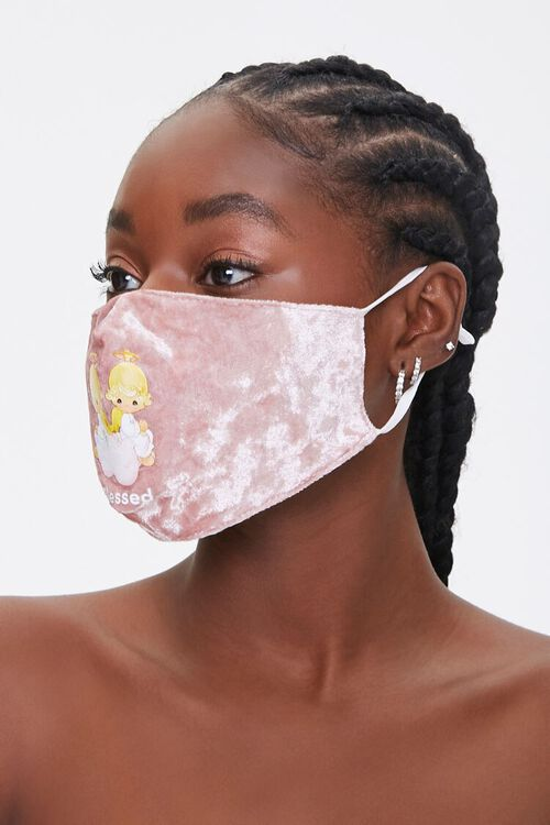 Precious Moments Graphic Face Mask, image 2