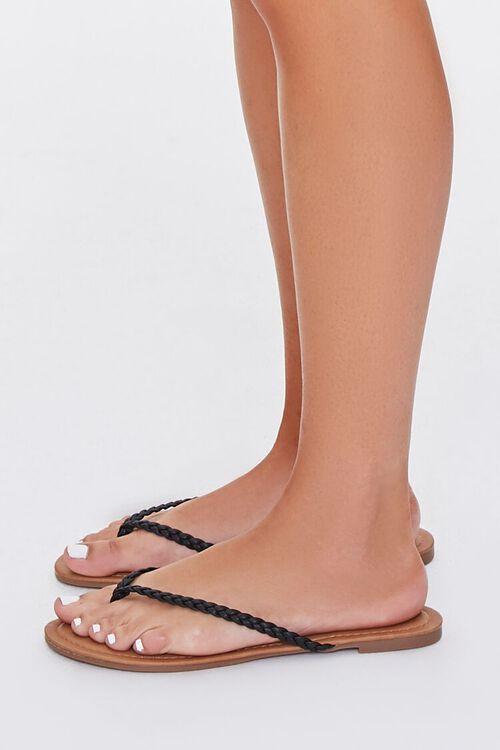 Braided Flat Sandals, image 2