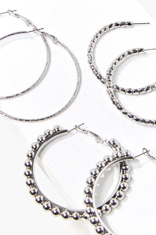Beaded Hoop Earring Set, image 2