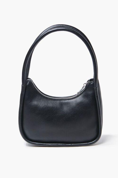 Faux Leather Shoulder Bag, image 1