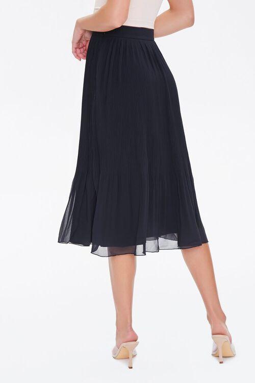 Knee-Length Pleated Skirt, image 4