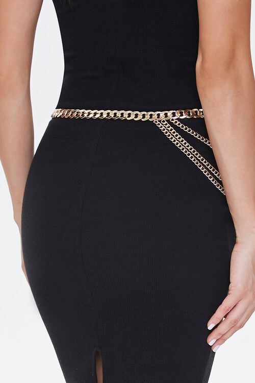 Layered Chain Waist Belt, image 3