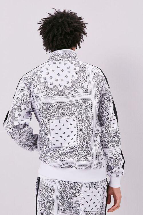Bandana Print Zip-Up Jacket, image 3