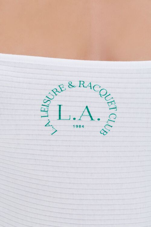L.A. Racquet Club Graphic Halter Top, image 5