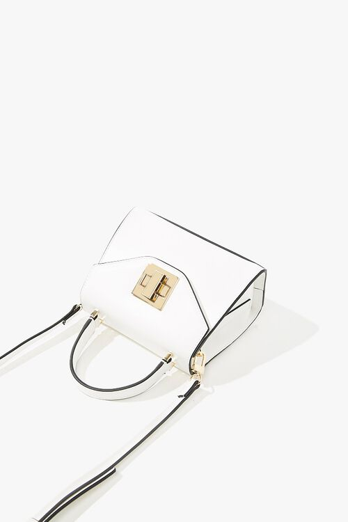 Structured Twist-Lock Crossbody Bag, image 4