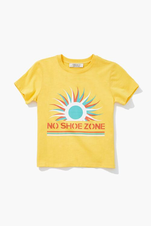 Girls No Shoes Graphic Tee (Kids), image 1