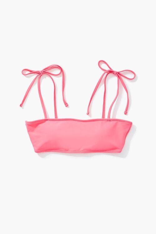 PINK Tie-Strap Bikini Top, image 4