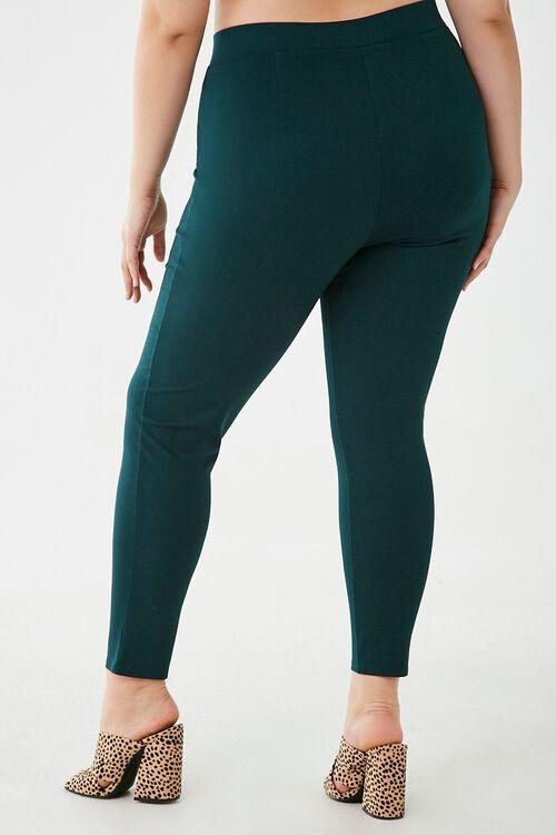 Plus Size Pull-Ring Leggings, image 4