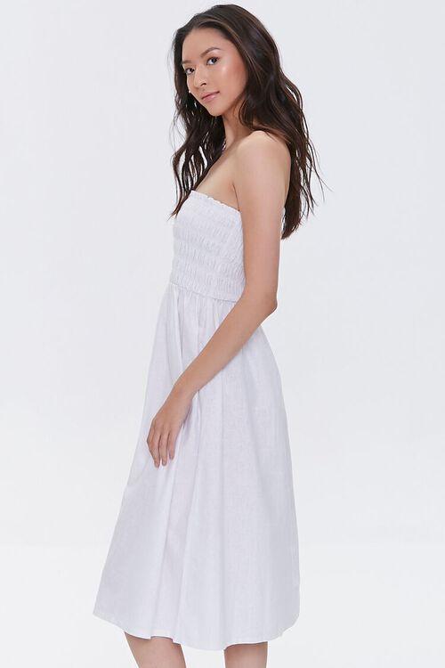 Smocked Strapless Dress, image 3