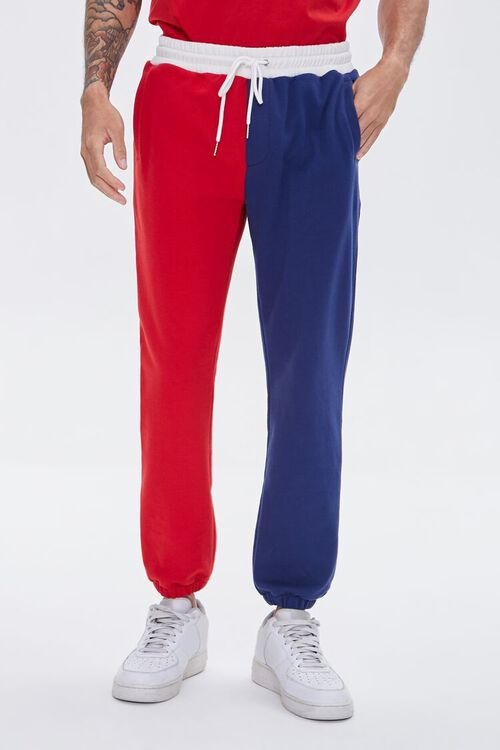 Colorblock French Terry Joggers, image 2