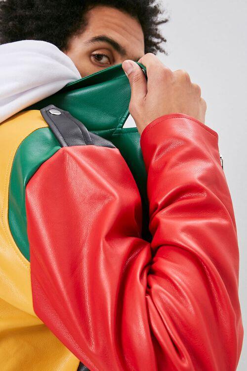 Colorblock Moto Jacket, image 6