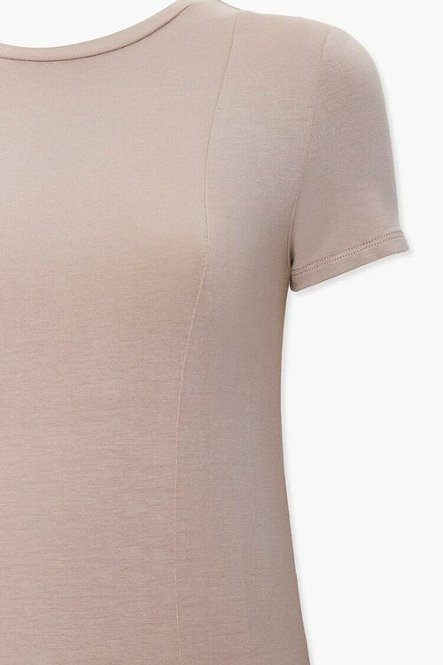 Knotted T-Shirt Dress, image 3
