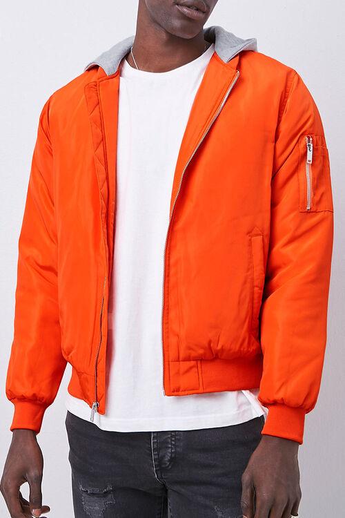 Hooded Bomber Jacket, image 5