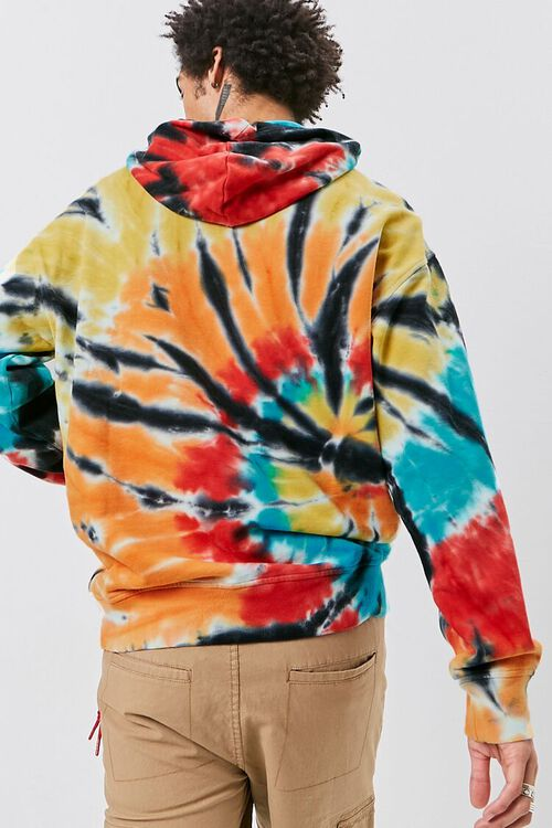 Tie-Dye French Terry Hoodie, image 3
