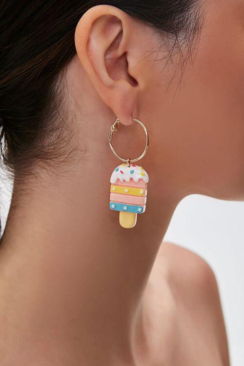 Ice Cream Pendant Drop Earrings, image 1