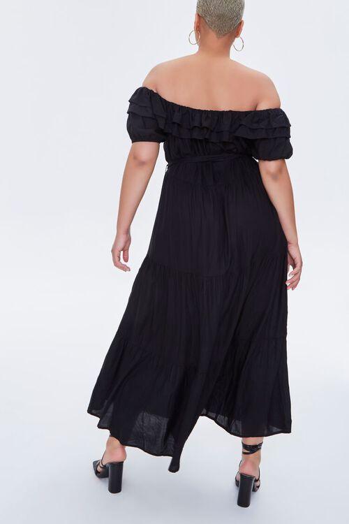 Plus Size Off-the-Shoulder Maxi Dress, image 4
