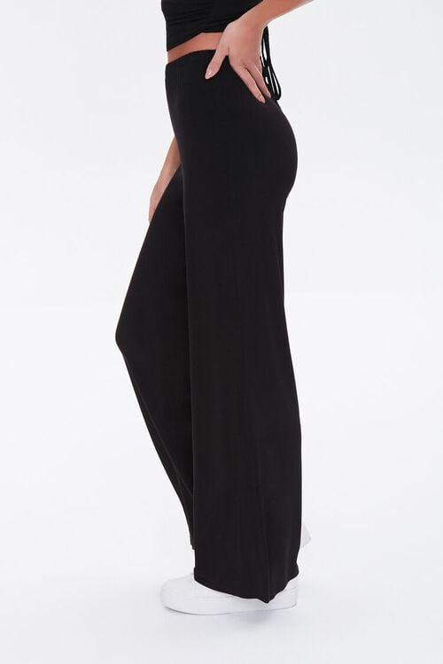 Knit High-Waisted Pants, image 3