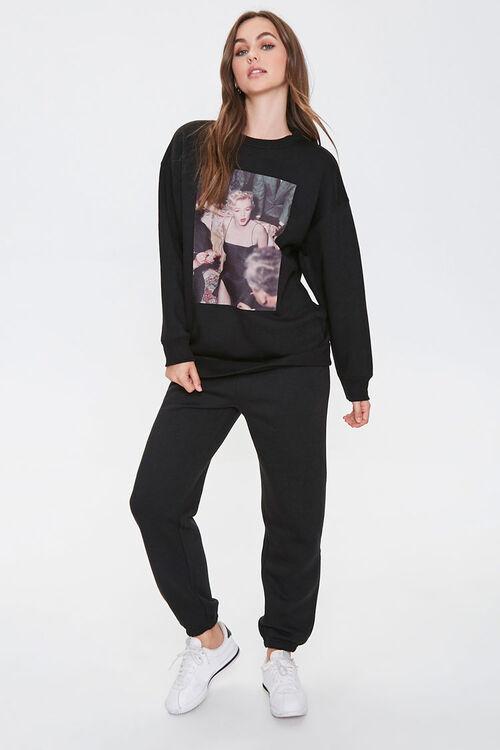 Fleece Marilyn Monroe Sweatshirt, image 4