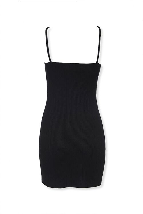 Ribbed Knit Bodycon Dress, image 3