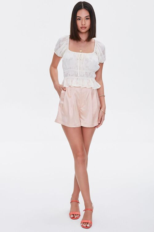 Burnout Puff-Sleeve Top, image 4