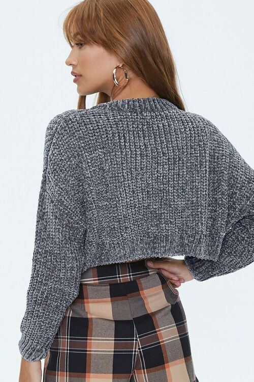 Ribbed Chenille Sweater, image 3