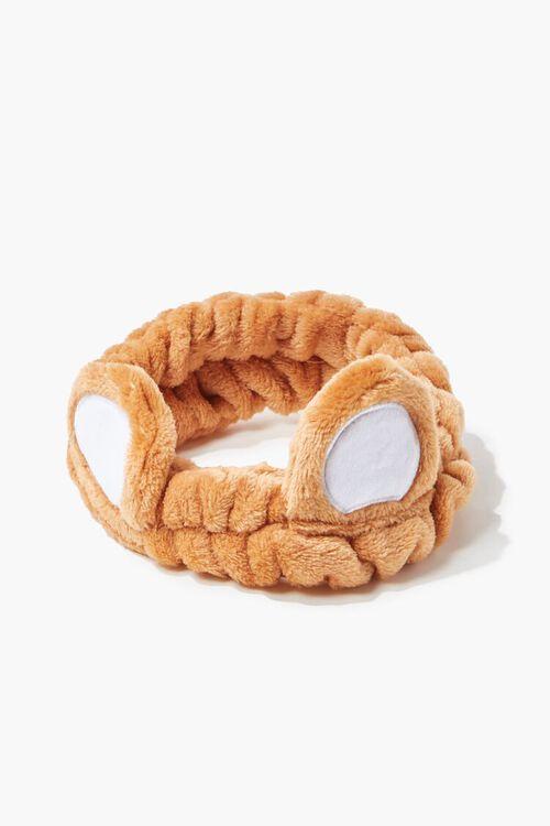 BROWN/MULTI Teddy Bear Headwrap, image 2