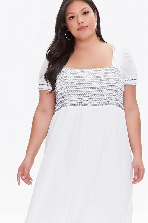 Plus Size Gauze Maxi Dress, image 2