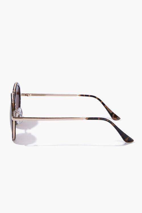 Round Tortoiseshell Sunglasses, image 2