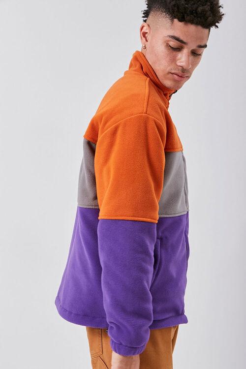 Fleece Colorblock Jacket, image 2