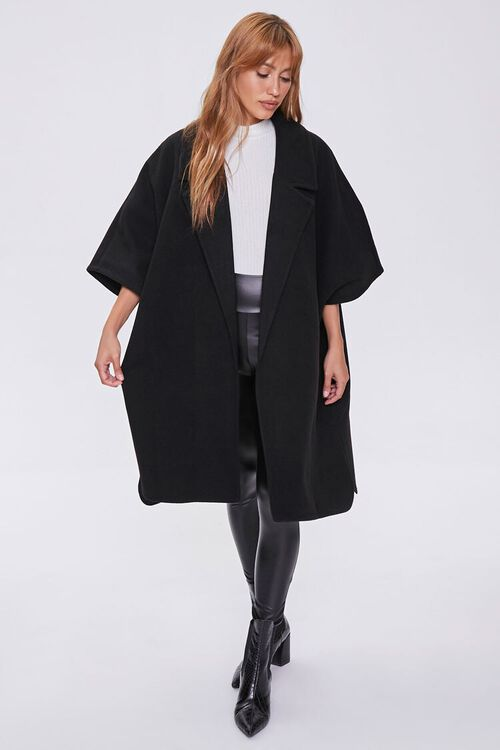 Open-Front Cocoon Coat, image 4