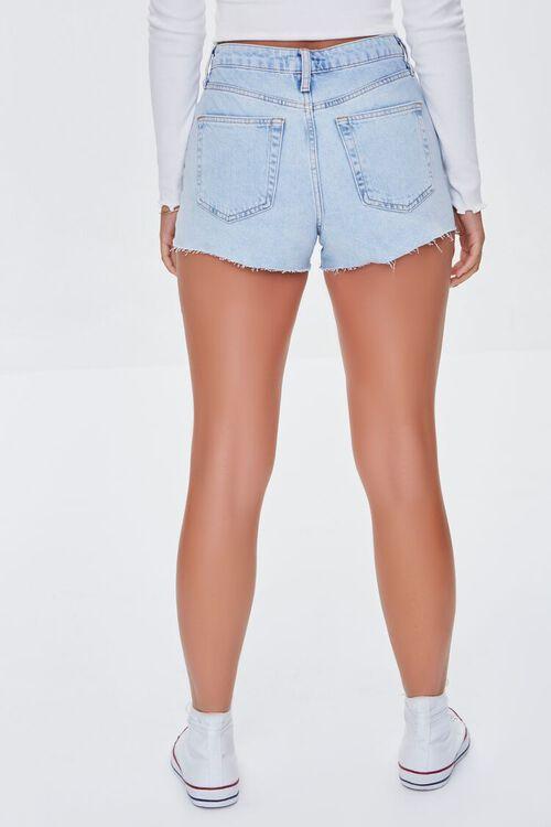 Retro High-Rise Denim Shorts, image 4