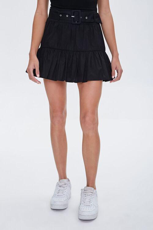 Tiered Mini Skirt, image 2