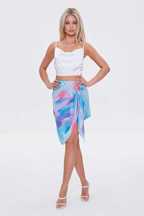 Abstract Print Mini Skirt, image 5