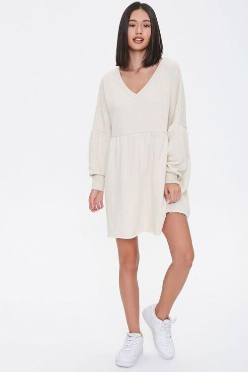 Drop-Sleeve Mini Dress, image 4