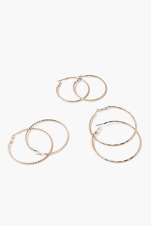 Thin Hoop Earring Set, image 1