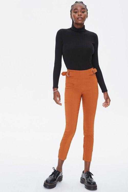 Skinny Waist-Tab Ankle Pants, image 1