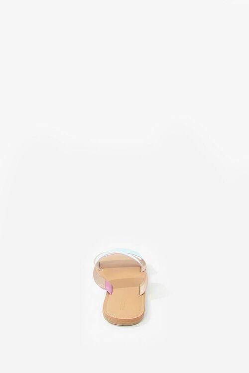 Vinyl Holographic Sandals, image 2