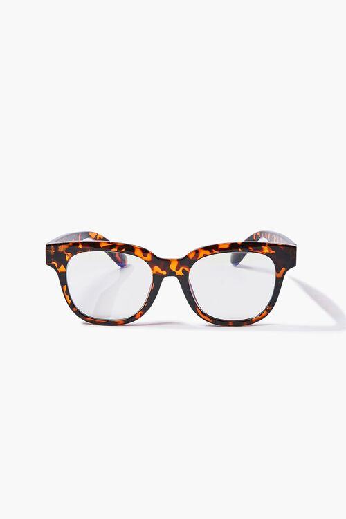 Tortoiseshell Blue Light Reader Glasses, image 1