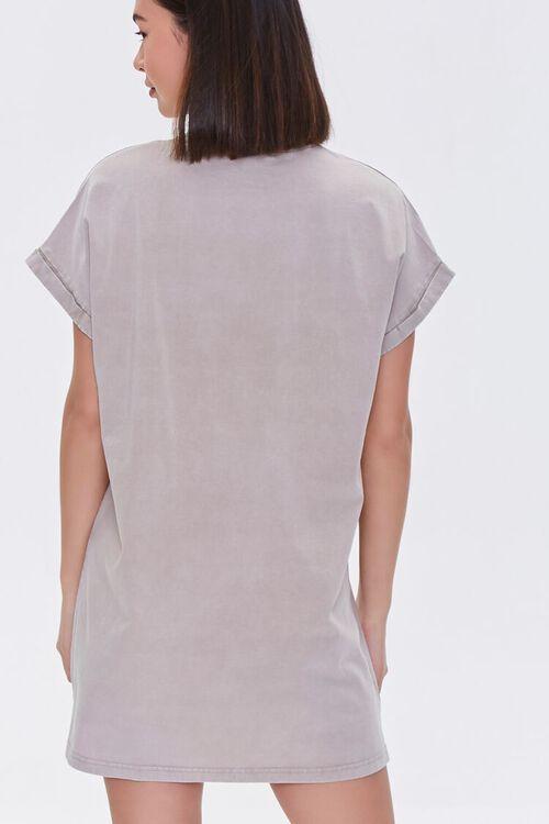 Angel Graphic T-Shirt Dress, image 3