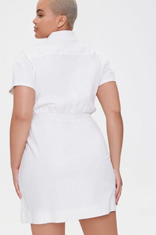 Plus Size Denim Mini Dress, image 3