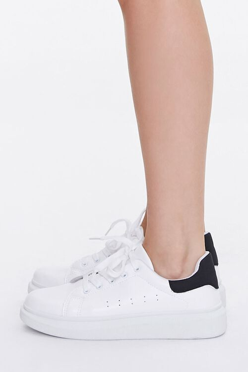 Lace-Up Platform Sneakers, image 2