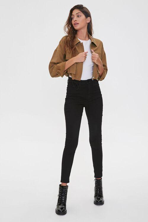 Drawstring Zip-Up Jacket, image 4