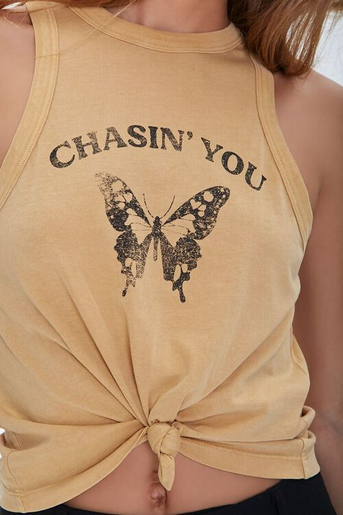 Chasin You Butterfly Tank Top, image 5