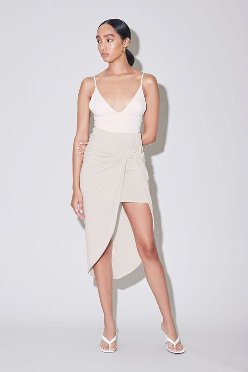 Twisted High-Low Skirt, image 5